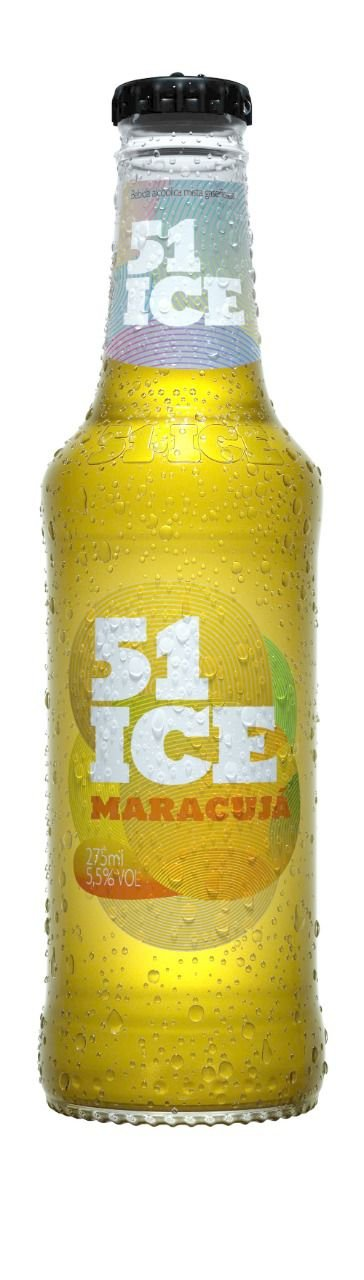 51 Ice Maracujá Long Neck 275ml PC com 6un