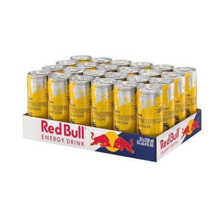Red Bull Tropical lata - PACK 24x250ml