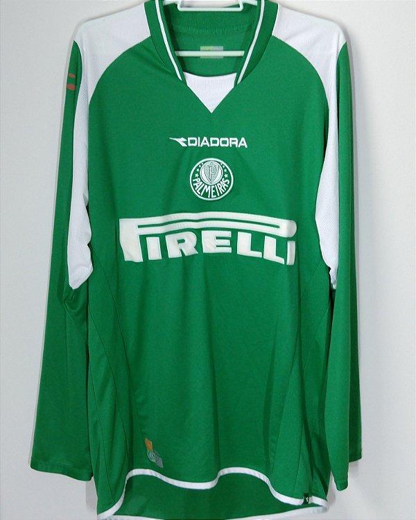 ee54ce162703f Camisa Palmeiras 2003 (G)  7 SEP1556 - Sua camisa do Palmeiras aqui!