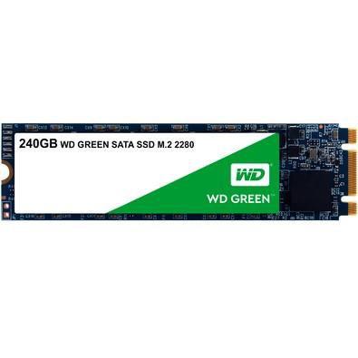 SSD M2 SATA 240Gb WESTERN DIGITAL GREEN