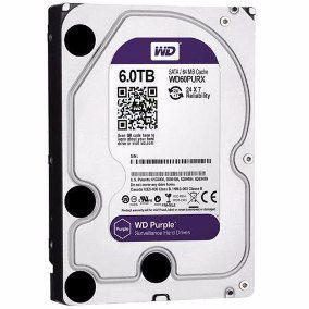 HD WD 6TB Purple SATA 6 Gb/s