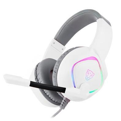 HEADSET GAMER MOTOSPEED G750 WHITE 7.1 USB