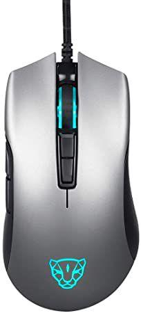 Mouse Gamer Motospeed V70 Cinza Espacial