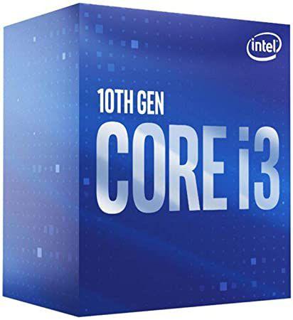 Processador Intel Core i3-10100F 10° Geração Socket 1200