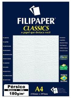 Papel Pérsico A4 Filipaper Classics 180g 50 Folhas Palha