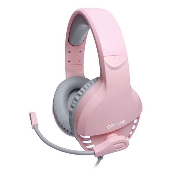 Headset Gamer Pink Fox, Newex HS414