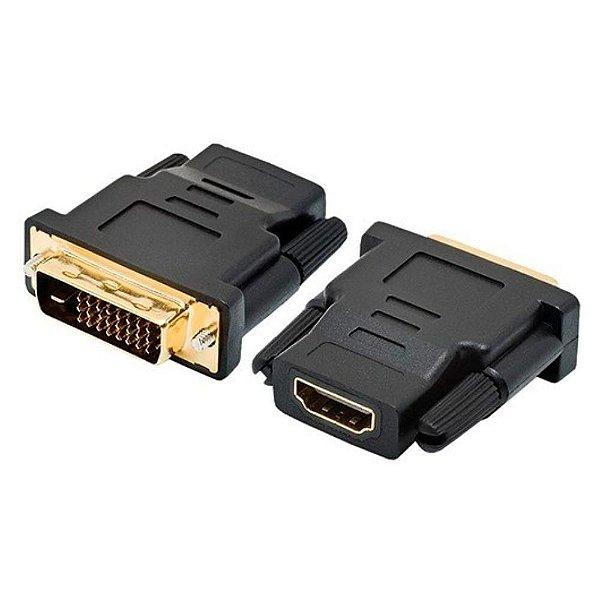Adaptador DVI-D M x HDMI F