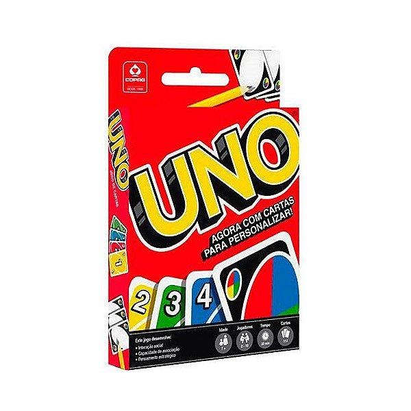 Jogo de Cartas Uno - 114 Cartas