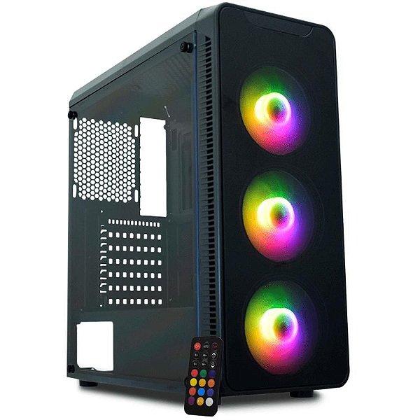 Gabinete Gamer K-Mex Infinity A1 CG-A1G8 - ATX Preto