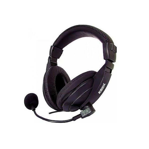 Fone De Ouvido Com Microfone, Controle Multimídia - Ars-7500