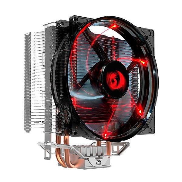Cooler FAN Redragon Reaver, LED Vermelho, 120mm - CC1011