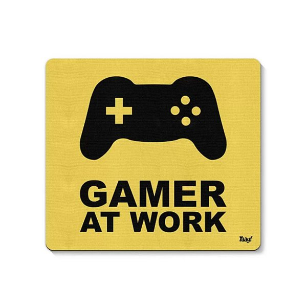 Mouse Pad Gamer at Work 23x20cm Yaay!
