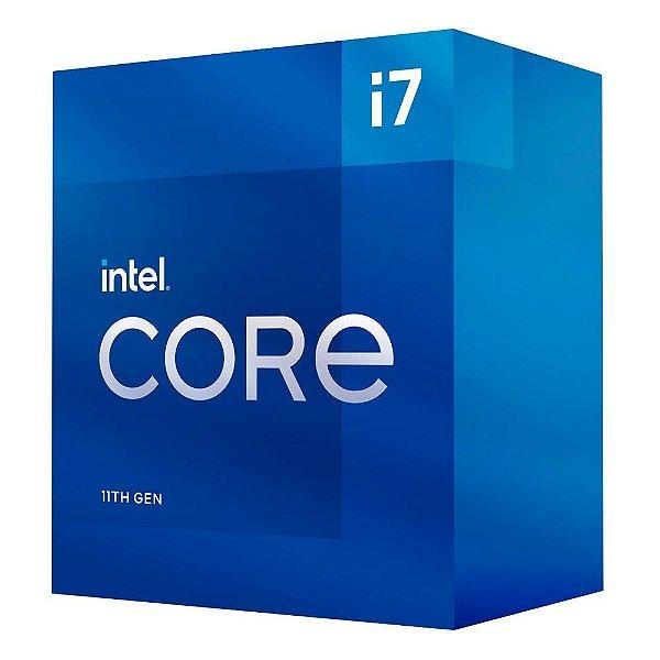 Processador Intel Core i7 11700K Box 11ª Geração Cache 16MB 3.60 GHz (Max Turbo 4.9GHz) - BX8070811700K