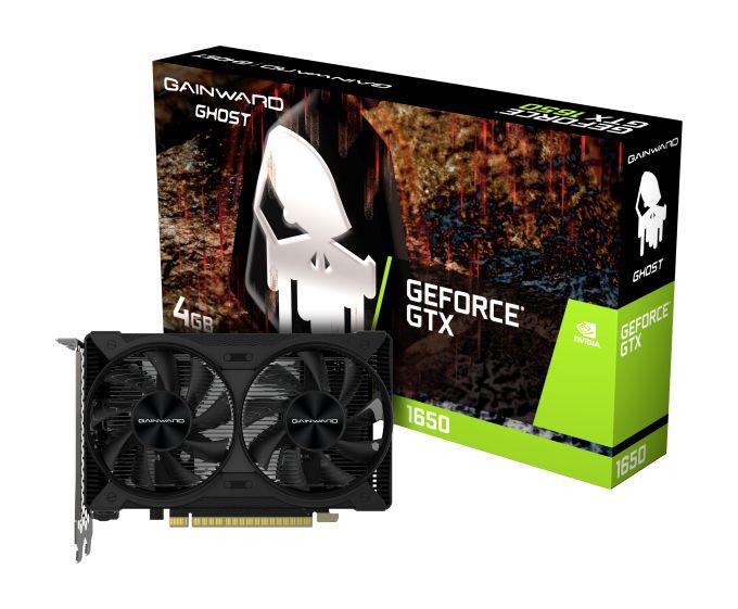Placa de Vídeo Gainward GeForce GTX 1650 D6 Ghost, 4GB, GDDR6, 128bit, NE6165001BG1-1175D