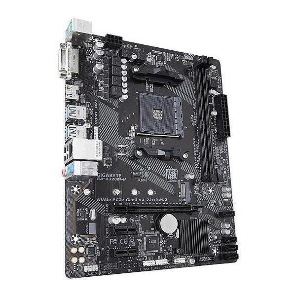 PLACA MAE GIGABYTE A320M-H DDR4 SOCKET AM4 CHIPSET AMD A320
