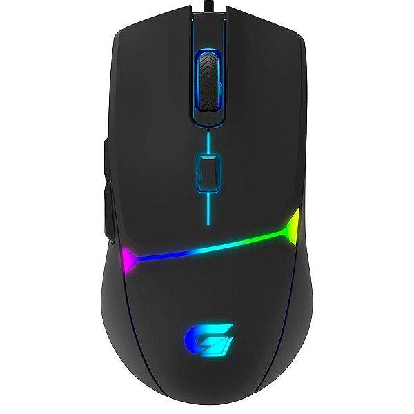 Mouse Gamer Fortrek G Crusader, RGB, 6 Botões, 7200DPI -