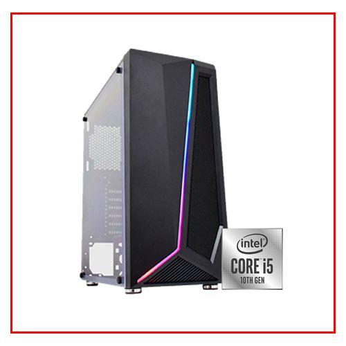 PC LIDER GAMER - I510600KF/H510M/16GB DDR4/SSD 480GB/500W 80 BRONZE/GTX1650 4GB/GABINETE GAMER RGB