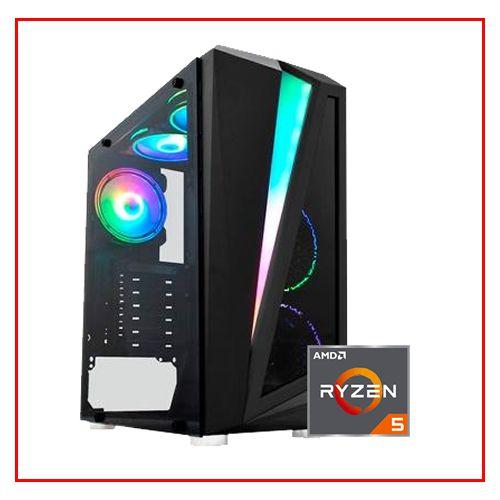 PC LIDER GOLD - RYZEN 5 3600/B450M/16GB/SSD 240GB/500W 80 BRONZE/GTX 1650 4GB/ GABINETE GAMER RGB