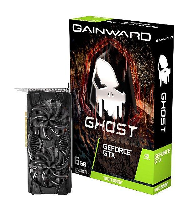 Placa de Vídeo Gainward GeForce GTX 1660 Super Ghost Dual, 6GB GDDR6, 192Bit, NE6166S018J9-1160X