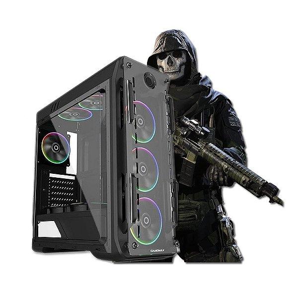 Pc Gamer Warzone- H410/I5 10400F/16GB 3000 RGB/240GB/1TB/600W 80 PLUS/GTX 1660 SUPER 6GB/GABINETE G510 OPTCAL