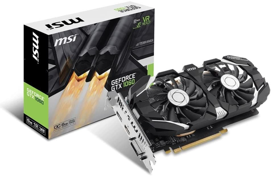 Placa de Vídeo MSI NVIDIA GeForce GTX 1050 TI 4G OCV1, 4GB, GDDR5 - GeForce GTX 1050 Ti 4G OCV1