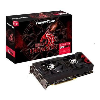Placa de Video 4GB Radeon RX 570 Power Color RED DRAGON GDDR5 - AXRX 570 4GBD5-3DHDV2/OC