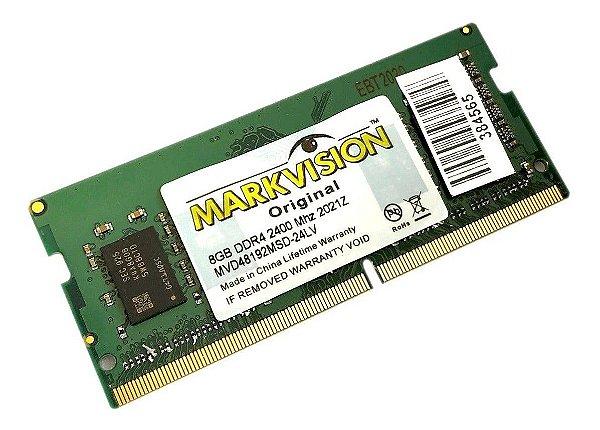 MEMORIA NOTEBOOK 8GB 2400MHZ DDR4 MARKIVISION