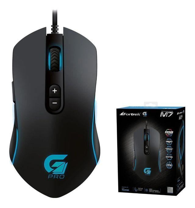 Mouse Fortrek M7 4800dpi com Macro