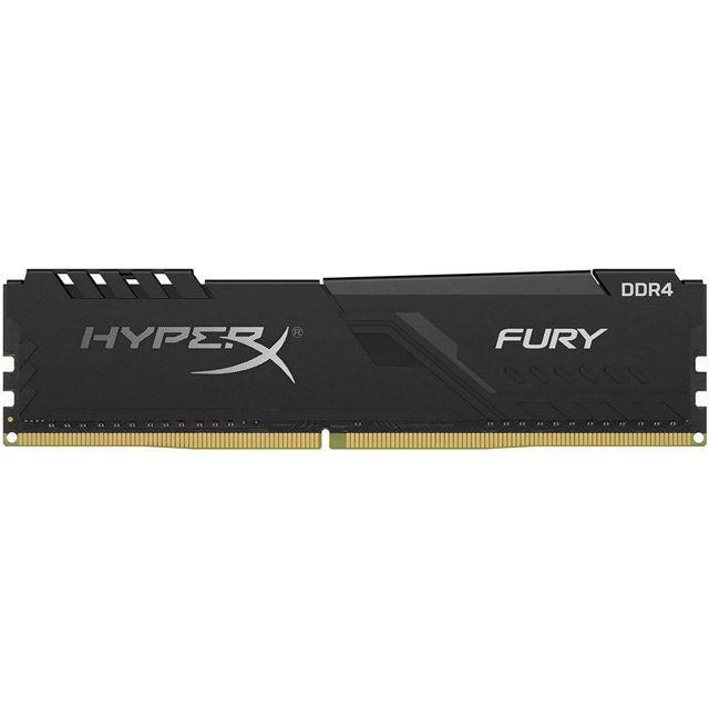MEMÓRIA DDR4 KINGSTON HYPERX FURY, 8GB 3000MHZ, BLACK
