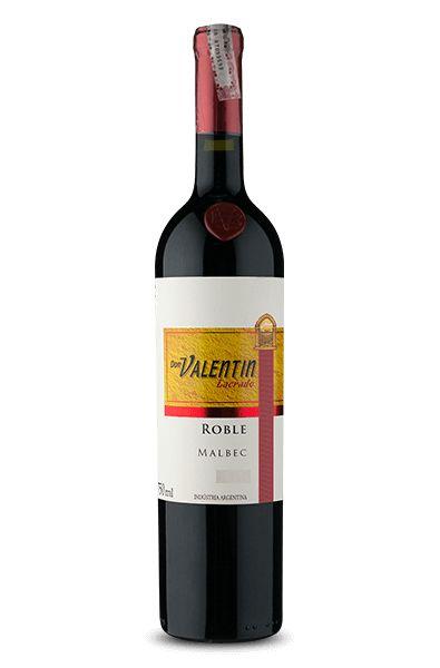 Vinho Tinto Argentino Don Valentin Lacrado Roble Malbec 750ml