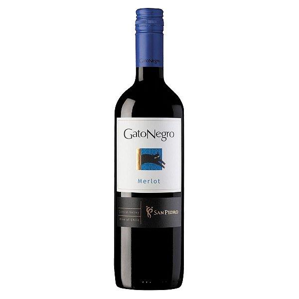 Vinho Tinto Chileno Gato Negro Merlot 750ml