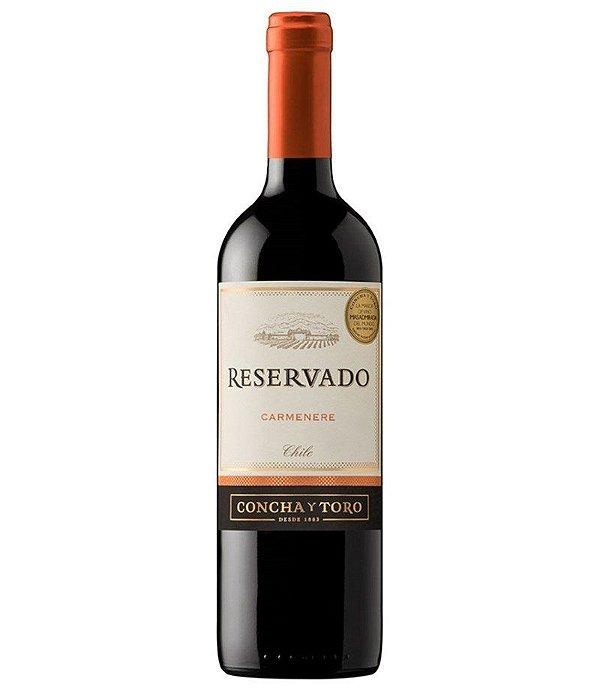 Vinho Chileno Reservado Concha Y Toro Camernere Tinto 750ml