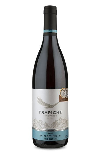 Vinho Argentino Trapiche Vineyards Pinot Noir Tinto 750ml