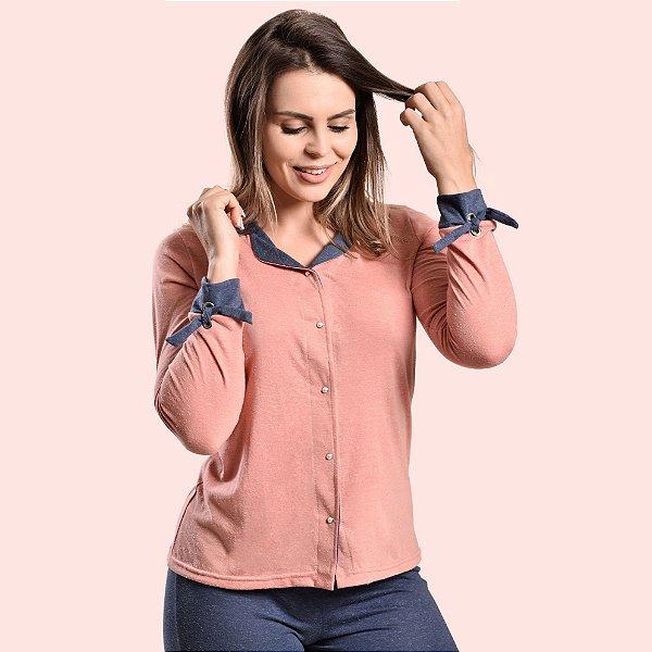 Pijama longo Amamentação Homewear - Maternidade