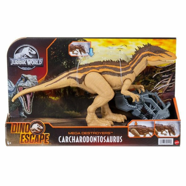 CARCHARODONTOSAURUS MEGA DESTROYER DINO ESCAPE JURASSIC WORLD MATTEL
