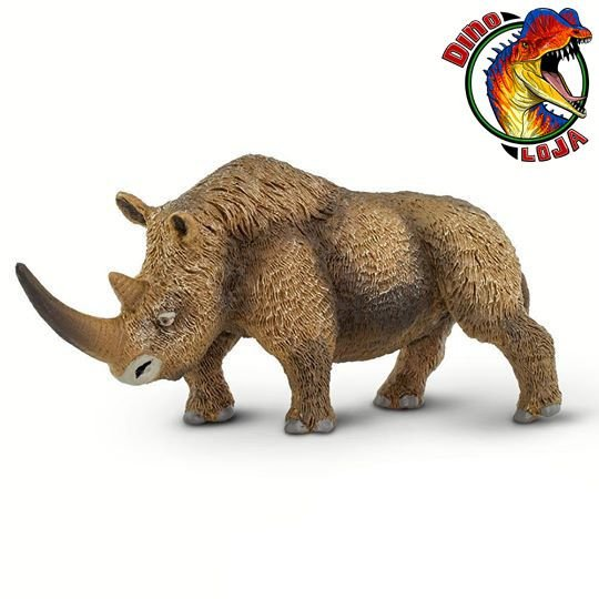 RINOCERONTE LANUDO WILD SAFARI 2019 MAMÍFERO ERA DO GELO SAFARI LTD. MINIATURA DE COELODONTA