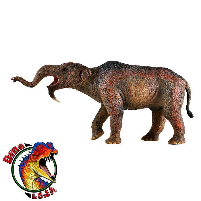 DINOTÉRIO DELUXE COLLECTA (ESCALA 1:20) RÉPLICA DE ANIMAL PRÉ HISTÓRICO ELEFANTE DEINOTHERIUM