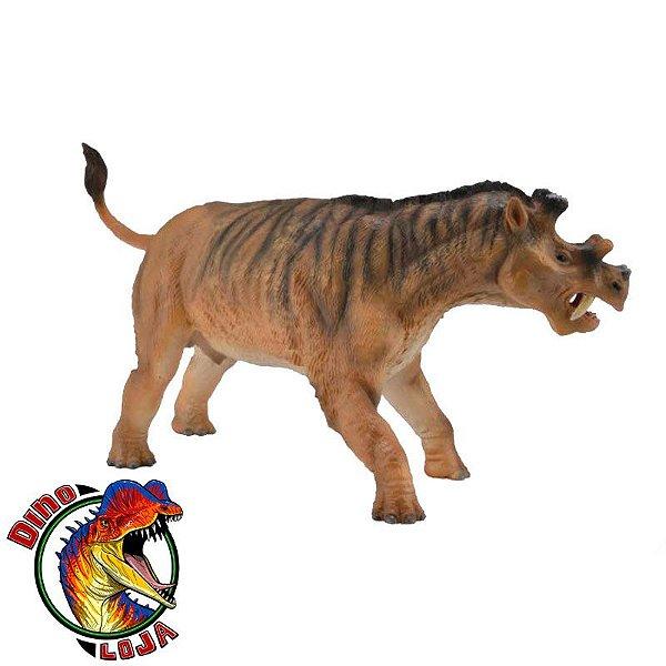 UINTATHERIUM COLEÇÃO DELUXE COLLECTA (ESCALA 1:20) MAMÍFERO PRÉ-HISTÓRICO MINIATURA DE ANIMAL IMPORTADO