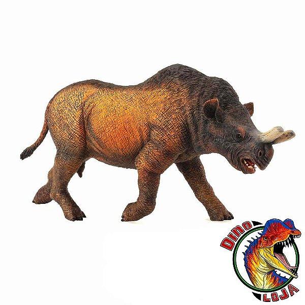 MEGACEROPS COLLECTA DELUXE (BRONTOTÉRIO)  BRINQUEDO DE ANIMAL RÉPLICA DE MAMÍFERO PRÉ HISTÓRICO