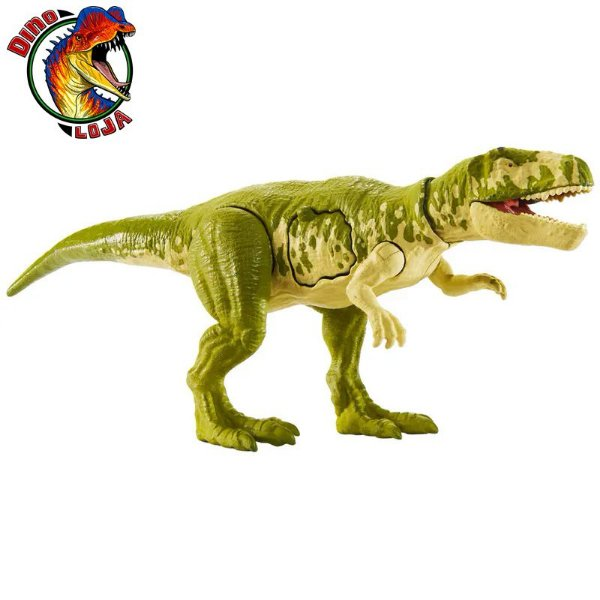 GASOSAURUS BATTLE DAMAGE JURASSIC WORLD MATTEL PRIMAL ATTACK COMBATE LETAL