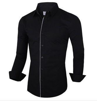 Camisa Social Slim Fit Modelo Italiano