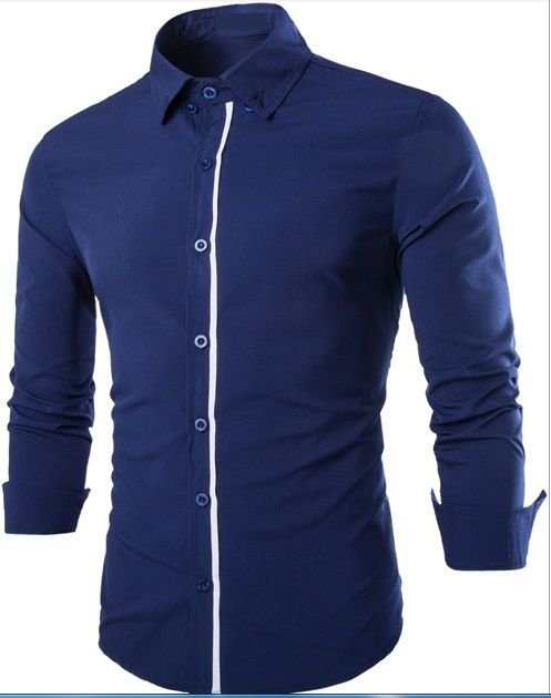 Camisa Social Slim Premium Algodão Top