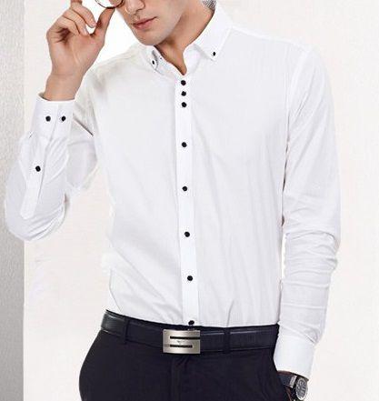 Camisa Social lançamento Slim Estilo Coreano