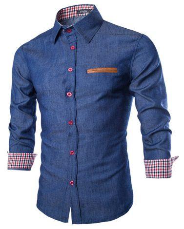 camisa social premium slim fit estilo brit nico lojas norton. Black Bedroom Furniture Sets. Home Design Ideas