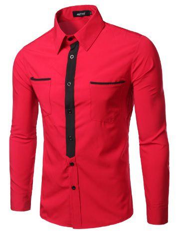 Camisa Social Premium Slim Fit Estilo Nigeria
