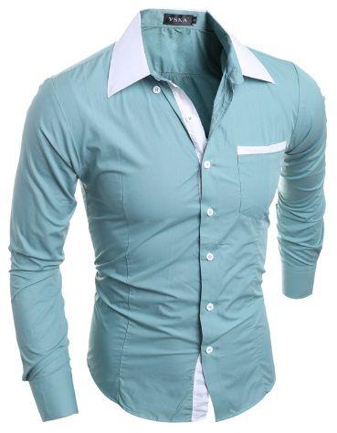 Camisa Social Slim Estilo Roménia