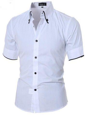 Camisa Social Premium Slim Fit Estilo Frances
