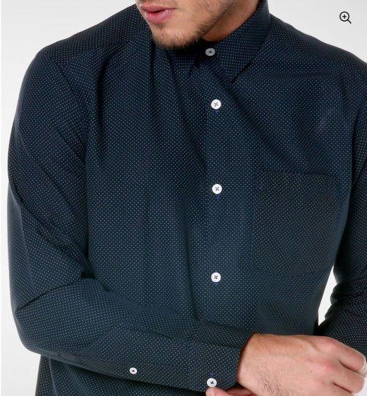 Camisa Social Premium Preto de Poá Noblemen's