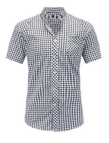 Camisa Social Slim Xadrez