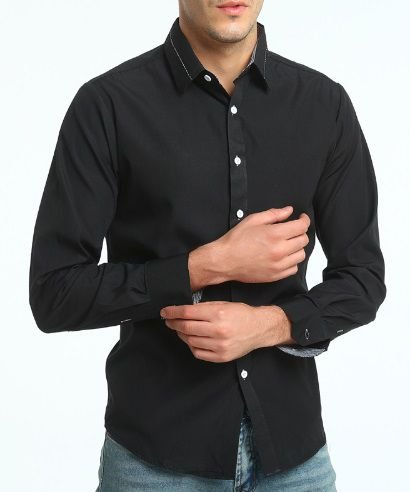 Camisa Social Estilo Oxford Slim Fit